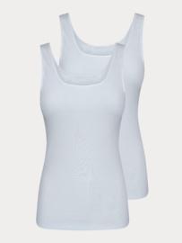 Dames Hemd - Wit - 2 Pack