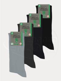 Sokken voor diabeten - Grijs/Blauw - 4 Paar