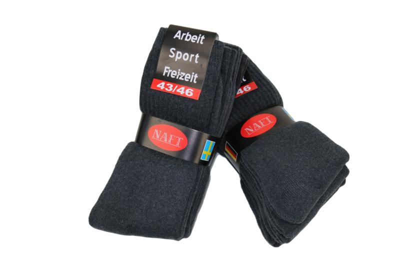 Sport sokken 10 pak grijs