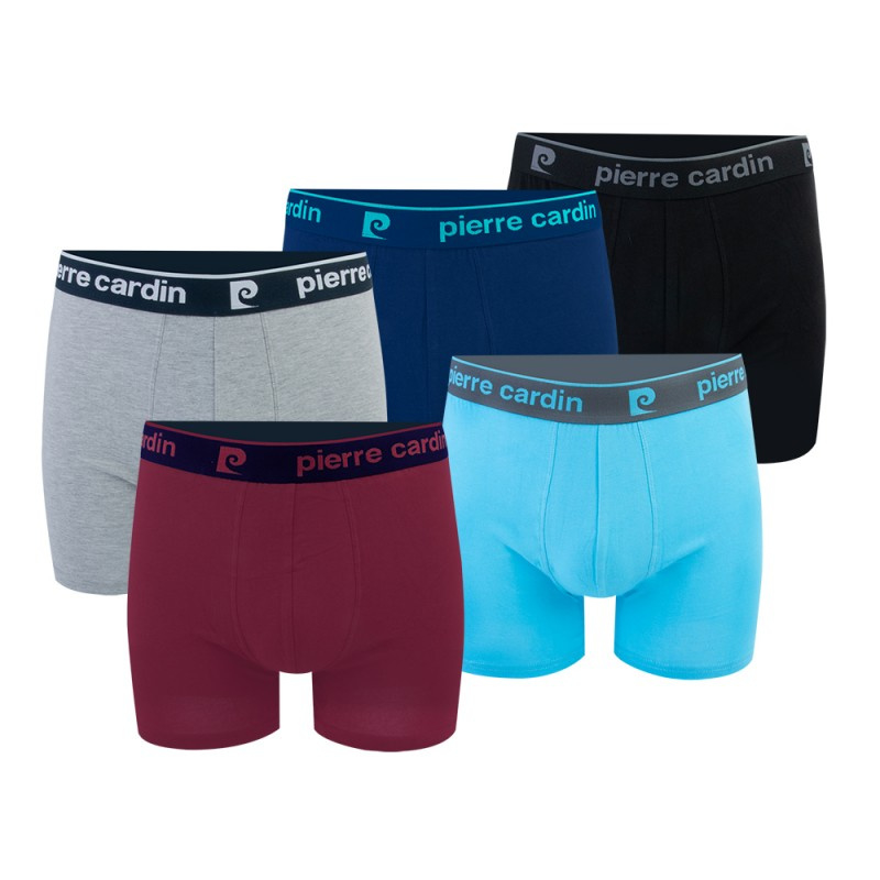 Pierre Cardin® heren boxershort effen 5 pack