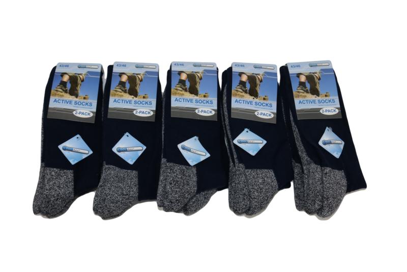 """Coolmax"" werk sokken 10 pak"