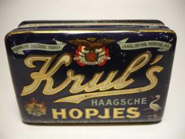 Blik 'Haagsche Hopjes', J.A.Krul Den Haag