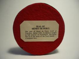 Henry de Perci Heer van Topclive gedateerd 1301