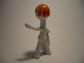 Porselein beeldje, Hollohaza kézzel