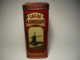 Antiek cacao blik A.Driessen, Rotterdam Holland