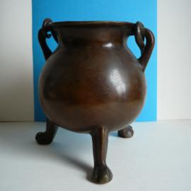 Antiek messing/bronzen grape