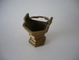 Vlaams gotisch bronzen wijwater emmertje