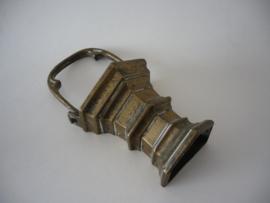 Antiek Vlaams gotisch bronzen wijwater emmertje