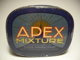 Tabaksblik 'Apex mixture', Rotterdam Holland
