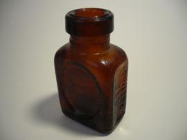 OXO klein antiek flesje, comp. LIEBIG