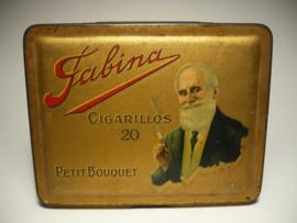 Blikje Fabina sigaretten