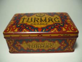 Blikje Turmac orange - 50 cigarettes