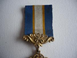 Zilveren medaille, nemo mortalium omnibus horis sapit