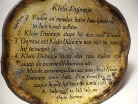 Zeldzaam chocolade strooiblikje, De Gruyter