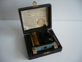 Kleine microscoop, antiek en zeldzaam, Duits