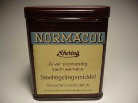 Medisch, blikje 'Normacol'