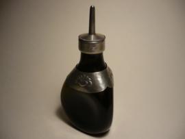 Gero flesje met beslag en bijzonder dopje
