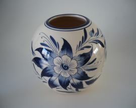 Bloemen pot, bloem motieven, Hollands