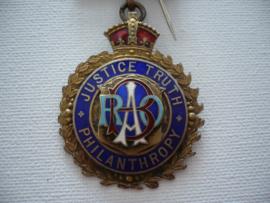 Zilveren medaille, swan lodge 1931