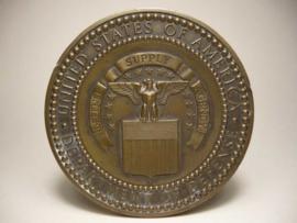 Bronzen penning, United States of America