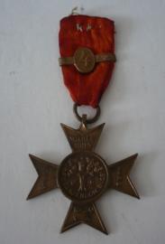 Medaille Wilhelmina, mars 1930, de oranjeboom bloeit