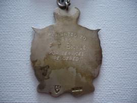 Zilveren medaille, roll of honnor