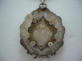 Zilveren medaille, primo sirdar lodge n0 1199