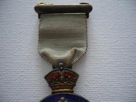 Zilveren medaille masonic, 1929