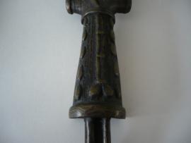 Beeldje, man met baard, (heilig beeldje)
