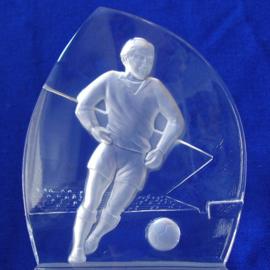 Voetballende voetballer