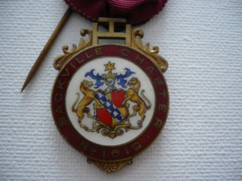Zilveren medaille, consecrating officer