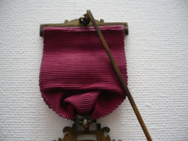 Zilveren medaille, consecrating officer