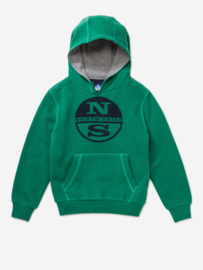 North Sails Hoody Logo Green