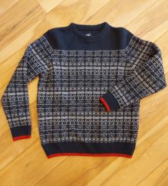 Key West - Round Neck Wool Knit - Navy