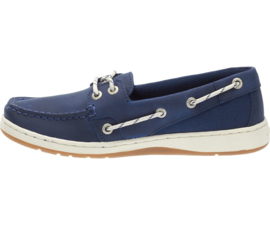 Sebago Meleah Two Eye Deck Shoe Navy Leather (W)