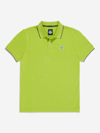 North Sails Polo S/S W Graphic - Lime Green
