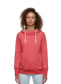 Ragwear - GRIPY MARINA - Sweatshirt - Ankerprint - Red - SS21