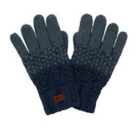 Weird Fish Innis Knit Gloves - Navy