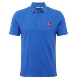 Napapijri Enago Polo - Ultramarine blue