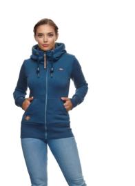 Ragwear - NESKA ZIP - Vest - Blue - SS21