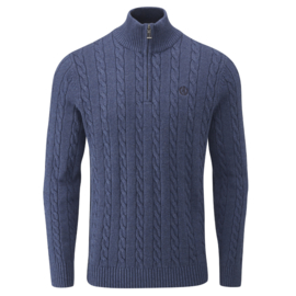 Henri Lloyd Cable Knit Marine