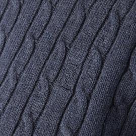 Henri Lloyd Cable Crew Neck Knit Navy