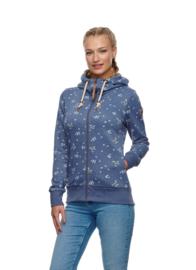 Ragwear - ANGEL ZIP - Vest - Indigo Blue - SS21
