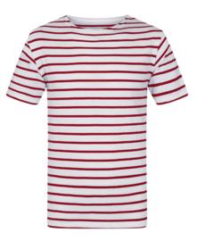 Mousqueton MATELY  KID shirt - blanc / chili