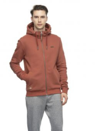 Ragwear - NATE ZIP - Hooded Vest - Terracotta - SS21/22