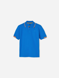 North Sails - POLO S/S W/EMBROIDERY - Royal Blue - SS21