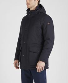 Paul &  Shark 3/4 Typhoon 20.000 Coat with detachable hood