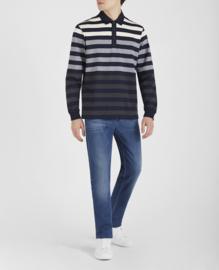 Paul & Shark Knitted Long Sleeve Polo Shirt