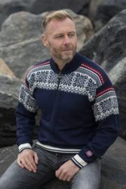 Norwool Noorse Sweater - 100% merino wol - arctic circle - navy