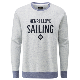 Henri lloyd Logo All Over Crew Neck Sweater